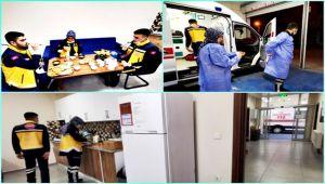 112 sağlık personelinin 1 günü