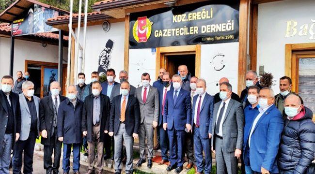AK Parti Kurmaylarından EGD'ye çıkarma... (Video)