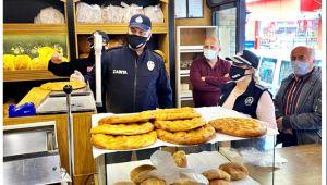 Alaplı'da fırın ve pastanelere Ramazan denetimi