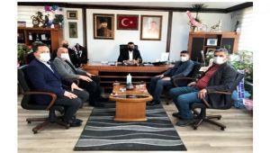 Başkan Yakup Yılmaz ve yönetimine ziyaretler sürüyor