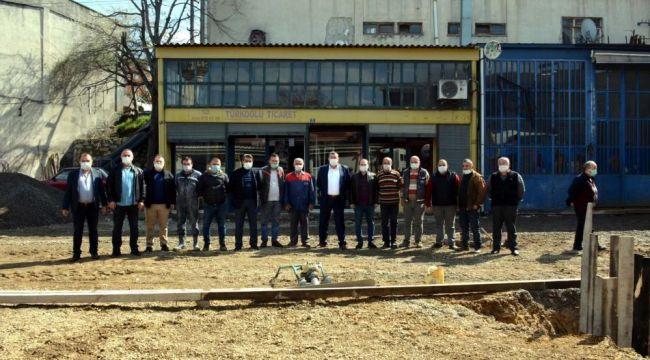 - Belediye Başkanı Sanayi esnafları gezdi, Yapılan çalışmaları inceledi