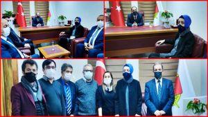 Cumhurbaşkanı Başdanışmanı Oruç, EGD'yi ziyaret etti