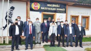 GMİS üst düzey yöneticilerinden EGD yönetimine ziyaret