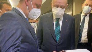 Ömer Selim Alan, Cumhurbaşkanı Erdoğan ile görüştü