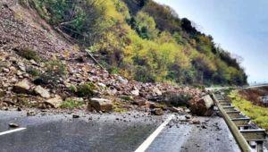 Zonguldak-İstanbul karayolu ulaşıma kapandı
