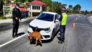 Araması bulunan 20 şüpheli ve 2 aracı yakalandı