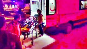 Balkonundan beton zemine düşen kişi yaralandı