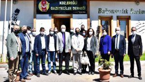 Başkan Posbıyık'tan EGD'ye iade-i ziyaret