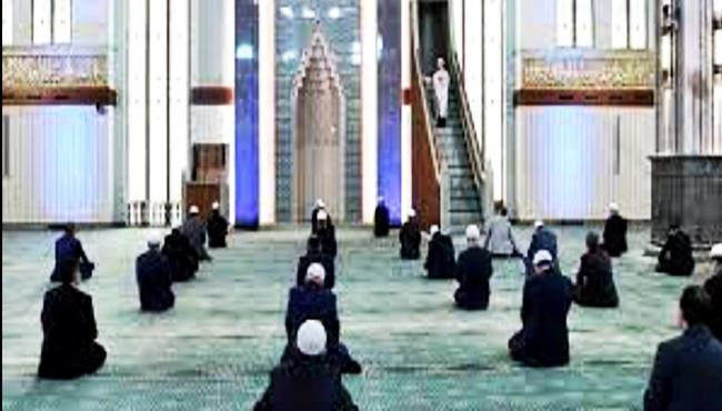 Tüm camilerin yanı sıra buralarda da kılınacak