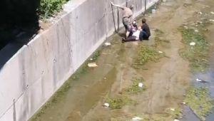 - Çatıdan dereye düşen vatandaş ağır yaralandı
