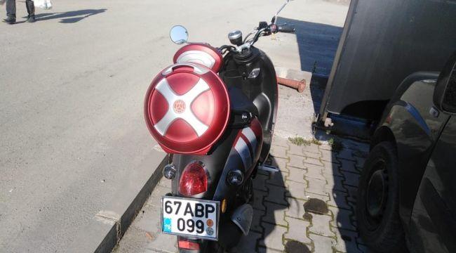 Ereğli'de motosiklet kazası: 1 yaralı