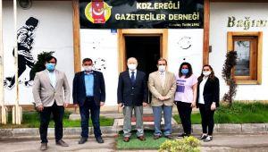Kaymakam Çorumluoğlu'ndan, EGD'ye ziyaret