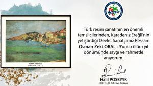 Osman Zeki Oral'ı andı