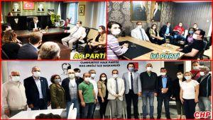 Siyasi partilere iade-i ziyaretler...