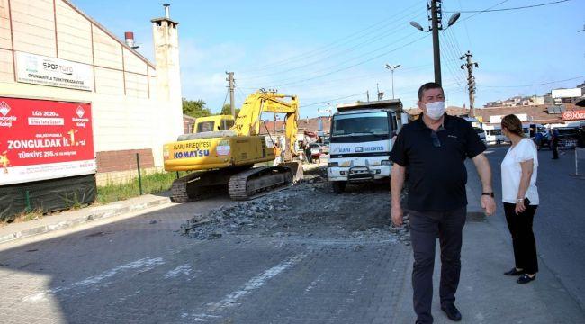 9 bin ton asfalt dökülecek