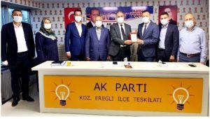 AK Parti Ormanlı Belde yönetiminde değişim