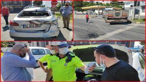 Alaplı'da trafik kazası