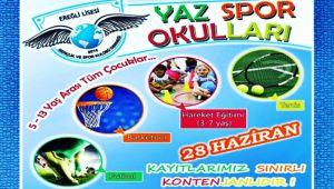Çocukların gözdesi: Yaz spor okulları...