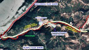 Cüruf tesisi mühürlendi, gölet Ereğli belediyesi sınırı dışında