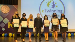 - E-twinning ödül töreni düzenlendi