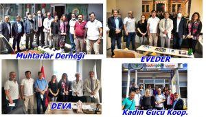 EGD'den iade-i ziyaretlere devam...