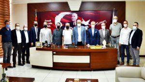 Ereğli'nin vizyon projesine MÜSİAD' dan destek