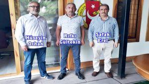 İl Genel Meclisi Üyesi Gültekin EGD'yi ziyaret etti...