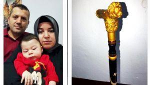 SMA hastası bebek için baston açık artırmada satıldı