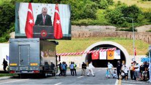 Bartın'daki yol açılışında konuşan Cumhurbaşkanı Erdoğan: