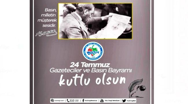 Başkan Posbıyık, Basın Bayramı'nı kutladı