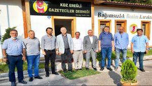 CHP Milletvekilleri EGD'yi ziyaret etti
