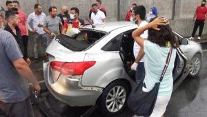 Freni boşaldı, 6 kişi yaralandı