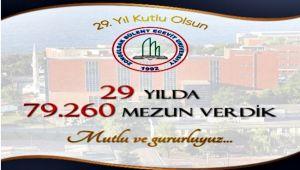 Rektör Çufalı'dan ZBEÜ'nün kuruluş yıldönümü mesajı