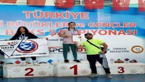 Türkiye şampiyonu...