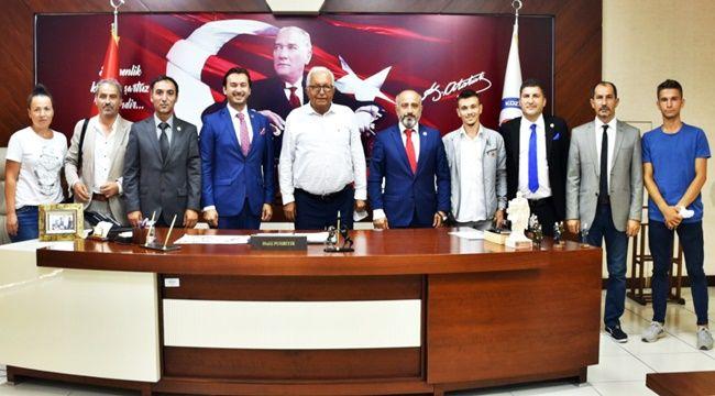 BATİYAC, Başkan Posbıyık'ı ziyaret etti