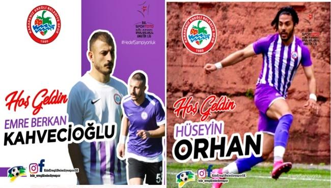 İç transferde, Kahvecioğlu ve Orhan ile anlaşma tamam
