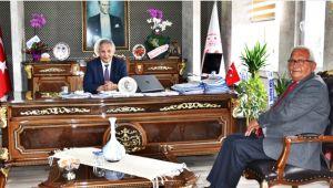 Başkan Posbıyık'tan yeni kaymakam Yapıcı'ya ziyaret