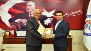 Başsavcı Çetin, Başkan Posbıyık'ı ziyaret etti
