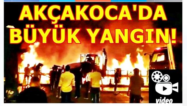 Büyük yangın! (VideO)
