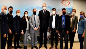 EGD yönetiminden ERDEMİR Genel Müdürüne ziyaret