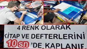 EVDE KİTAP - DEFTER KAPLAMA DERDİNE SON...