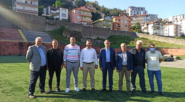 - Şehit Vefa Karakurdu Stadı'nda çalışmalar başladı