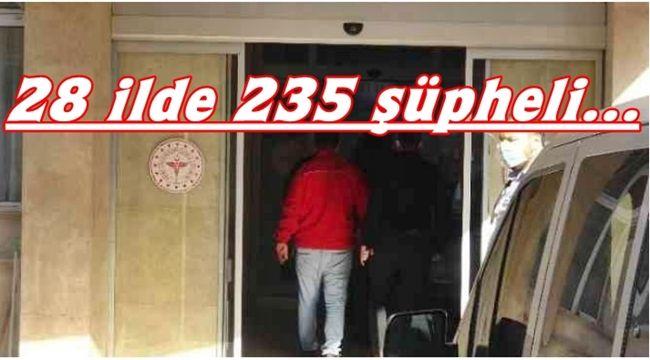 'Çekirge Operasyonu'nda 66 şüpheliden 26'sı adliyede