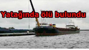 Gemide ölü bulundu