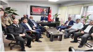 GMİS yöneticileri Ereğli'de ziyaretlerde bulundu