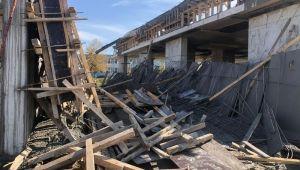 - Yurt inşaatında iskele çöktü: 1 ölü, 1 yaralı